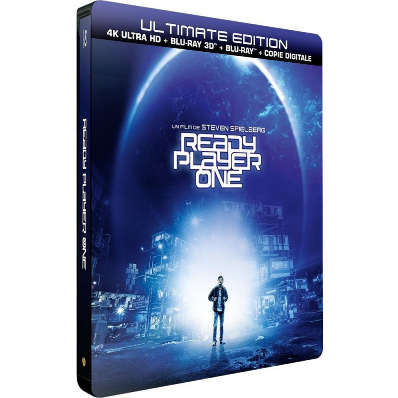 READY PLAYER ONE (ULTRA HD BLU RAY + 3D)