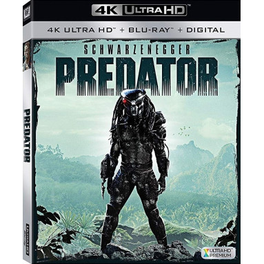 PREDATOR (ULTRA HD BLU RAY)