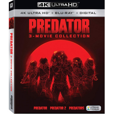 PREDATOR MOVIE COLLECTION (ULTRA HD BLU RAY)