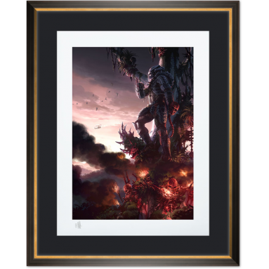 ART PRINT PREDATOR JUNGLE HUNTER