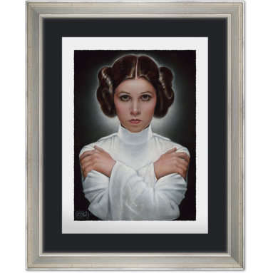 ART PRINT LEA: PRINCESS OF ALDERAAN