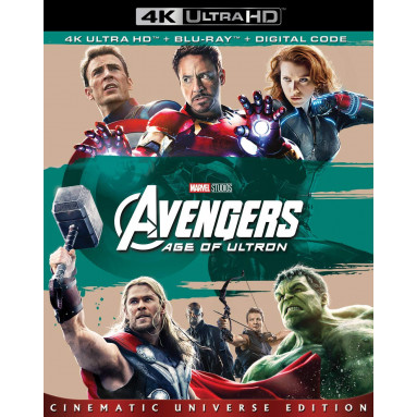 AVENGERS AGE OF ULTRON (ULTRA HD BLU RAY)