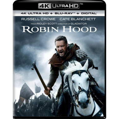 ROBIN HOOD (ULTRA HD BLU RAY)