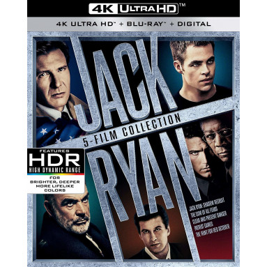 JACK RYAN COLLECTION (ULTRA HD BLU RAY)
