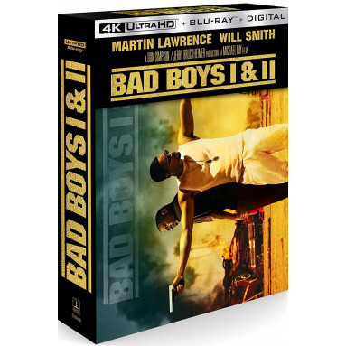 BAD BOYS/BAD BOYS II (ULTRA HD BLU RAY)