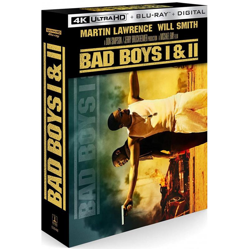 BAD BOYS/BAD BOYS II (ULTRA HD BLU RAY)