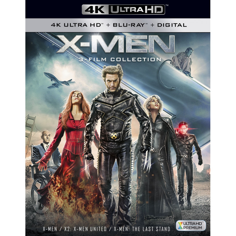 X-MEN TRILOGY (ULTRA HD BLU RAY)