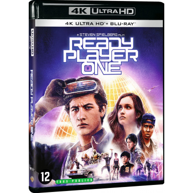 READY PLAYER ONE (ULTRA HD BLU RAY)