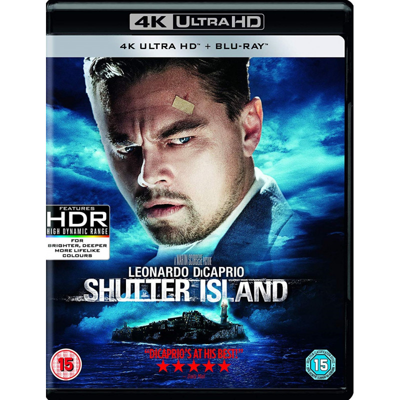 SHUTTER ISLAND (ULTRA HD BLU RAY)