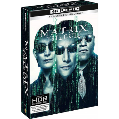 MATRIX TRILOGY (ULTRA HD BLU RAY)