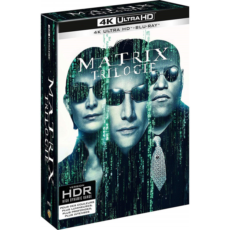 MATRIX TRILOGY (ULTRA HD BLU RAY)