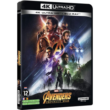 AVENGERS INFINITY WAR (ULTRA HD BLU RAY)