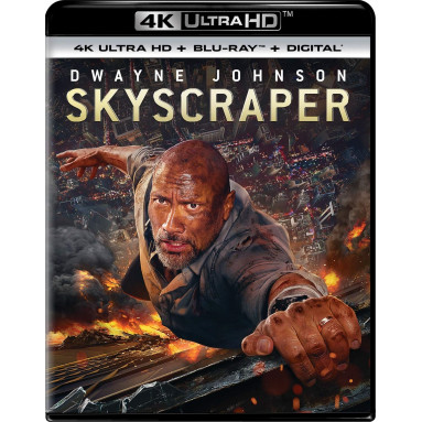 SKYSCRAPER (ULTRA HD BLU RAY)