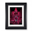ART PRINT DAREDEVIL AND ELEKTRA