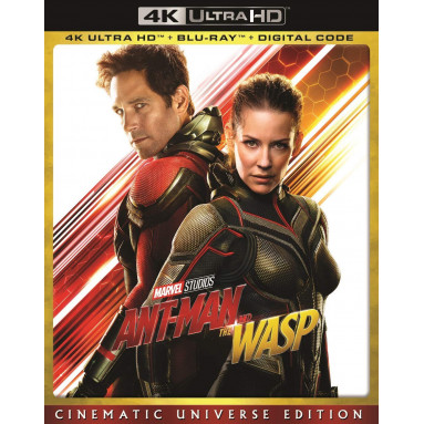 ANT-MAN AND THE WASP (ULTRA HD BLU RAY)