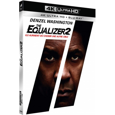 EQUALIZER 2 (ULTRA HD BLU RAY)