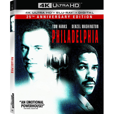 PHILADELPHIA (ULTRA HD BLU RAY)