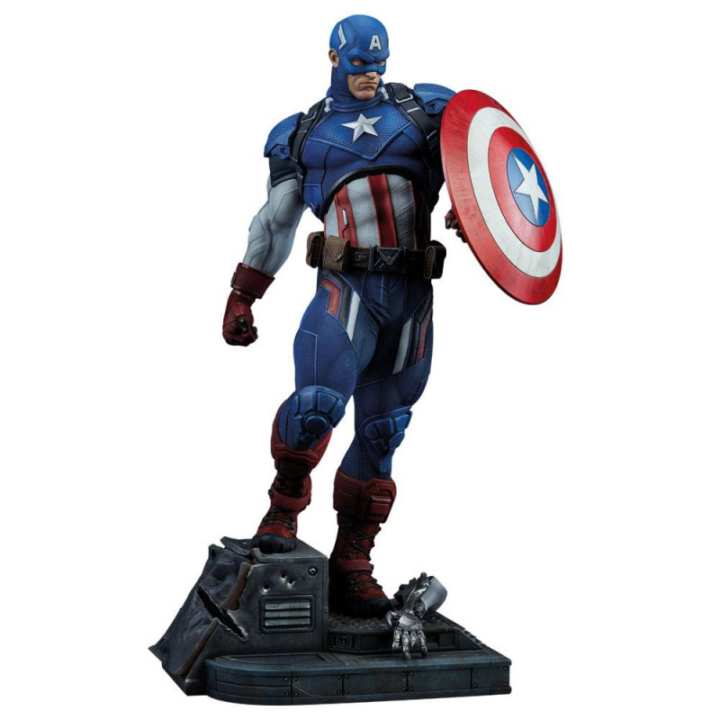 COLLECTIBLE CAPTAIN AMERICA 53CM