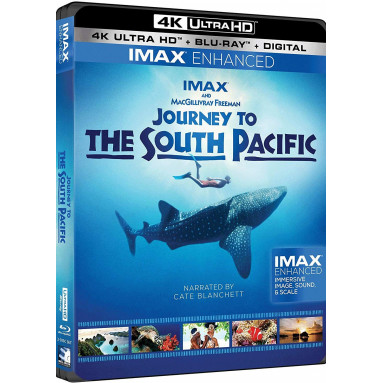 JOURNEY TO THE SOUTH PACIFIC (ULTRA HD BLU RAY)