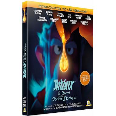 ASTERIX LE SECRET DE LA POTION MAGIQUE (ULTRA HD BLU RAY + 3D)