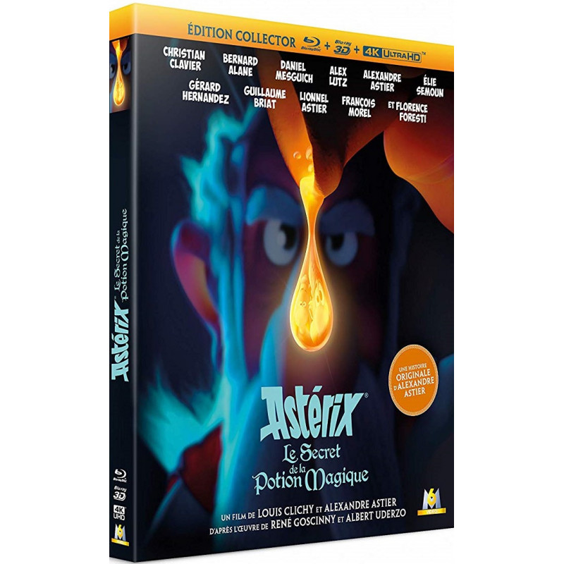 ASTERIX LE SECRET DE LA POTION MAGIQUE (ULTRA HD BLU RAY + 3D)