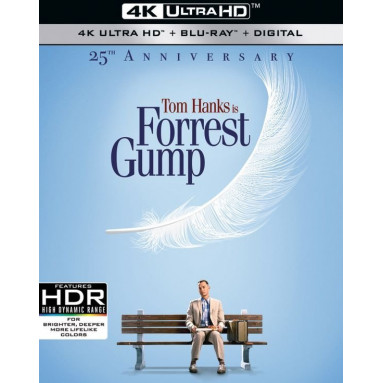 FORREST GUMP 25TH ANNIVERSARY (ULTRA HD BLU RAY)