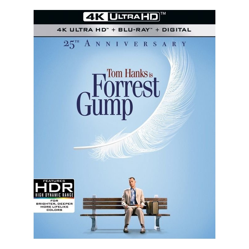 FORREST GUMP (ULTRA HD BLU RAY)