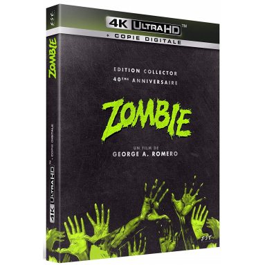 ZOMBIE (ULTRA HD BLU RAY)