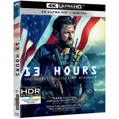13 HOURS (ULTRA HD BLU RAY)