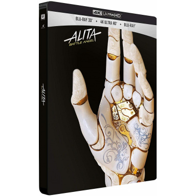 ALITA BATTLE ANGEL (ULTRA HD BLU RAY) + 3D