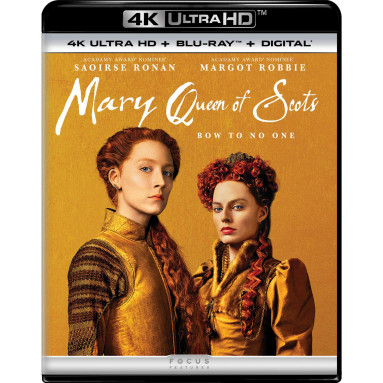 MARY QUEEN OF SCOTS (ULTRA HD BLU RAY)