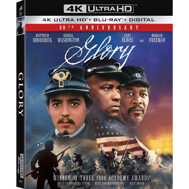GLORY (ULTRA HD BLU RAY)