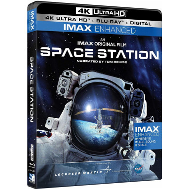 SPACE STATION (ULTRA HD BLU RAY)