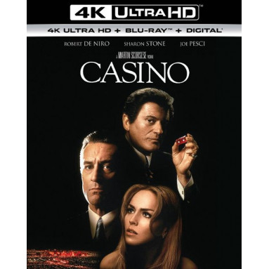 CASINO (ULTRA HD BLURAY)