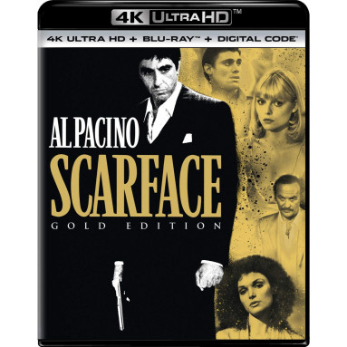 SCARFACE (ULTRA HD BLU RAY)