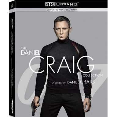COLLECTION DANIEL CRAIG 007 (ULTRA HD BLU RAY)