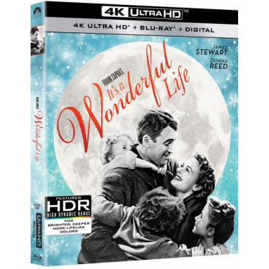 IT'S A WONDERFUL LIFE (ULTRA HD BLU RAY)