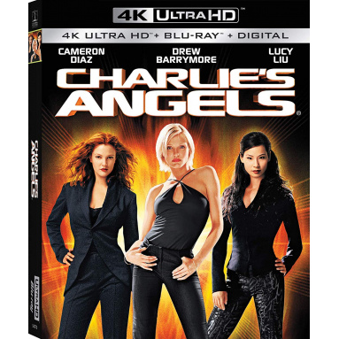 CHARLIE'S ANGELS (ULTRA HD BLU RAY)