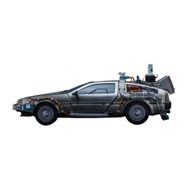 COLLECTIBLE RETOUR VERS LE FUTUR DELOREAN VOLANTE