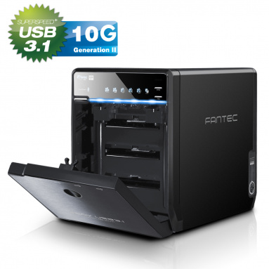 FANTEC 4 HDDs BOX