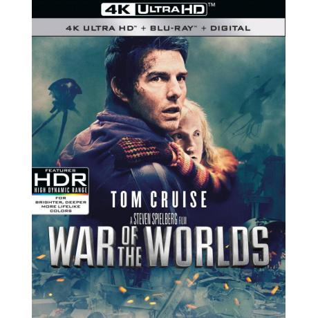 WAR OF THE WORLDS (ULTRA HD BLU RAY)