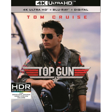 TOP GUN (ULTRA HD BLU RAY)