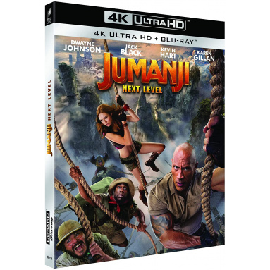 JUMANJI NEXT LEVEL (ULTRA HD BLU RAY)