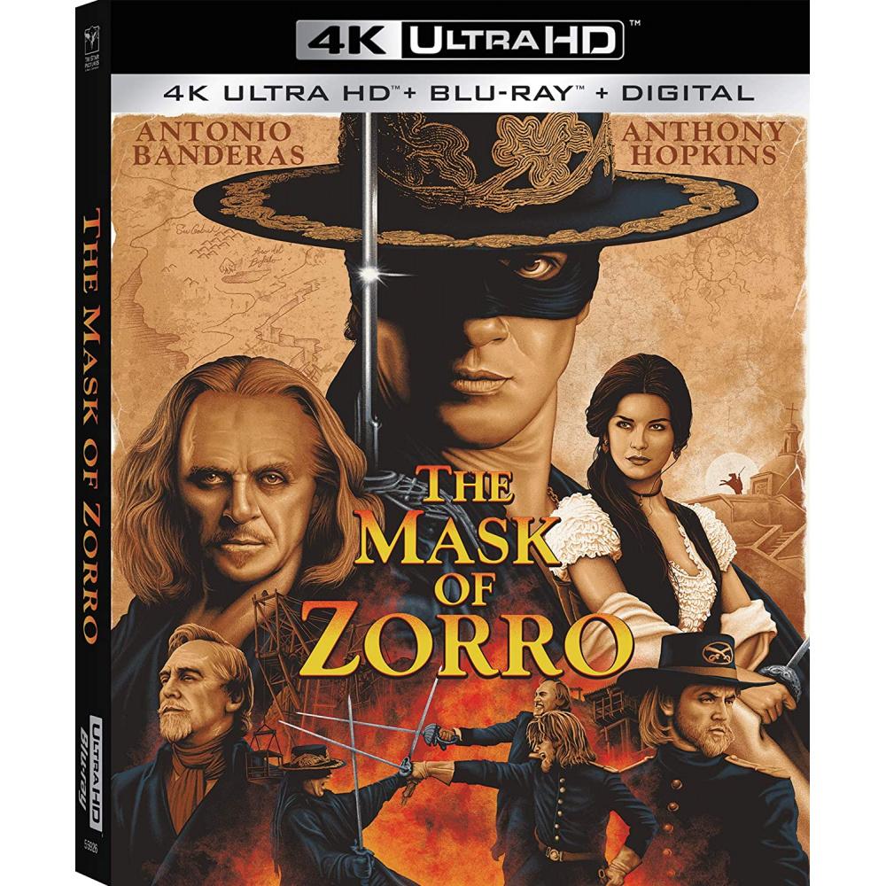 MASK OF ZORRO (ULTRA HD BLU RAY)