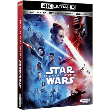 STAR WARS ASCENSION DE SKYWALKER (ULTRA HD BLU RAY)