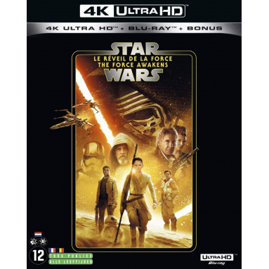 STAR WARS REVEIL DE LA FORCE (ULTRA HD BLU RAY)