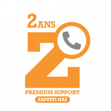 ZAPPITI NAS PREMIUM SUPPORT 2 YEARS