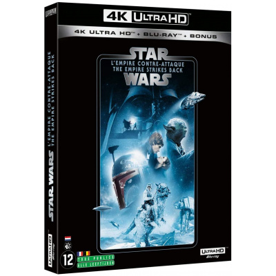 STAR WARS L'EMPIRE CONTRE ATTAQUE (ULTRA HD BLU RAY)