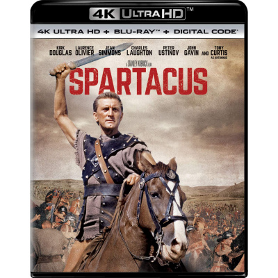 SPARTACUS (ULTRA HD BLU RAY)