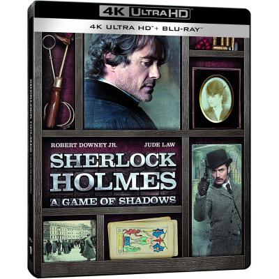 SHERLOCK HOLMES 2 : JEU D'OMBRES (ULTRA HD BLU RAY)